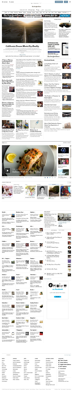 The New York Times at Sunday April 5, 2015, 12:17 p.m. UTC