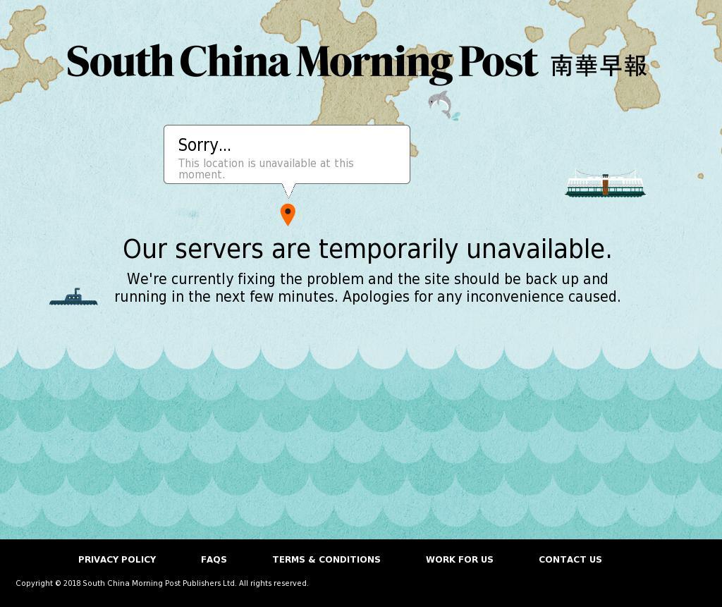 South China Morning Post at Wednesday Jan. 10, 2018, 12:21 p.m. UTC