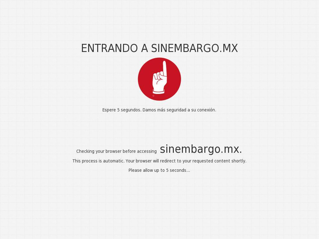 Sin Embargo at Friday Jan. 5, 2018, 8:19 a.m. UTC