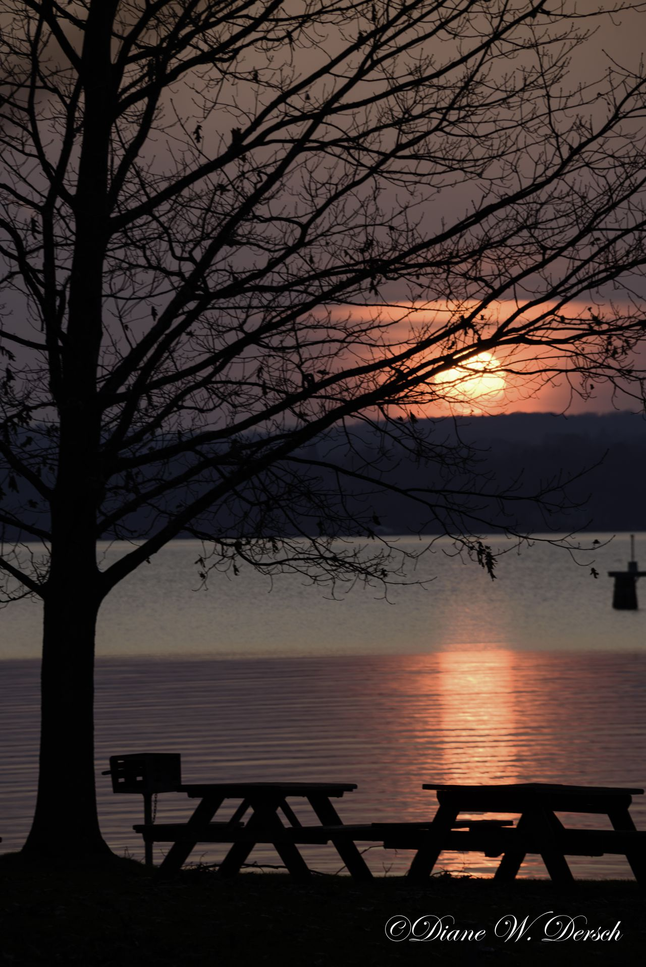Seneca Lake Sunset (photo)