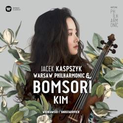 Wieniawski / Shostakovich by Wieniawski ,   Shostakovich ;   Jacek Kaspszyk ,   Warsaw Philharmonic ,   Bomsori Kim